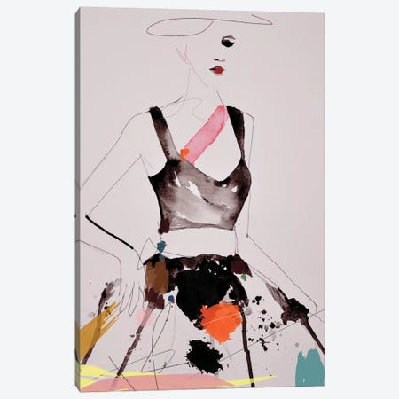 Figure 5 Canvas Print #LVI24} by Leigh Viner Art Print