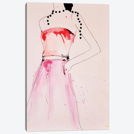 About A Pearl Canvas Print #LVI2} by Leigh Viner Canvas Art