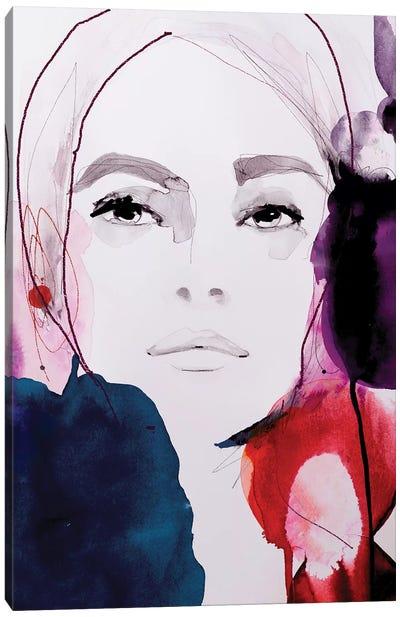 Rouge Noir Canvas Art Print