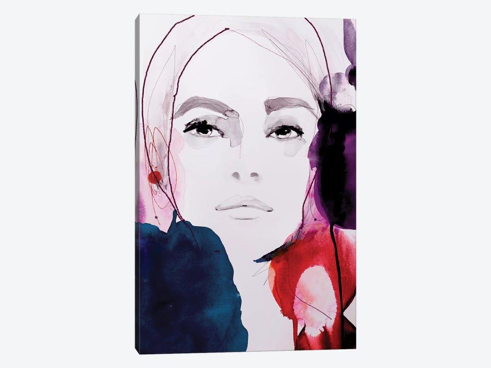 Rouge Noir by Leigh Viner 1-piece Canvas Art