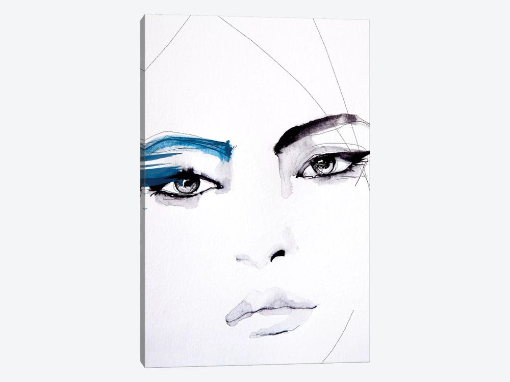 Untitled by Leigh Viner 1-piece Canvas Art Print