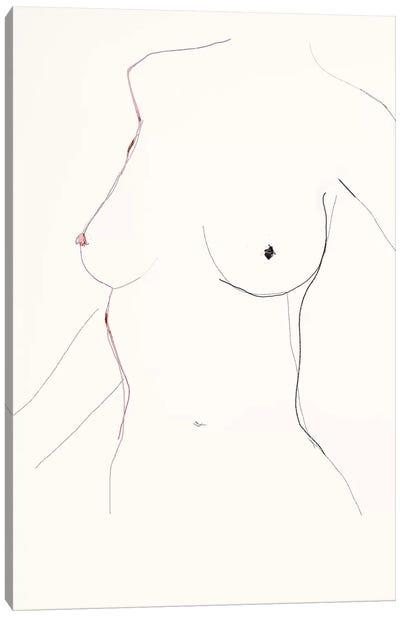 Le Sable Canvas Art Print
