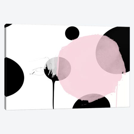 London Dot Canvas Print #LVI54} by Leigh Viner Canvas Wall Art