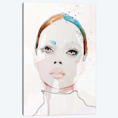 Oceanic Thirst Canvas Print #LVI56} by Leigh Viner Canvas Art