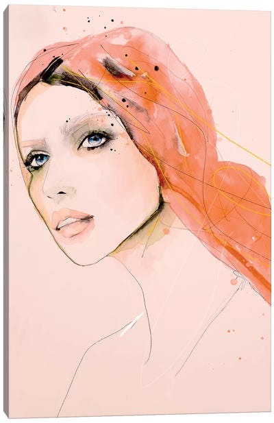 Light Furrow Canvas Art Print