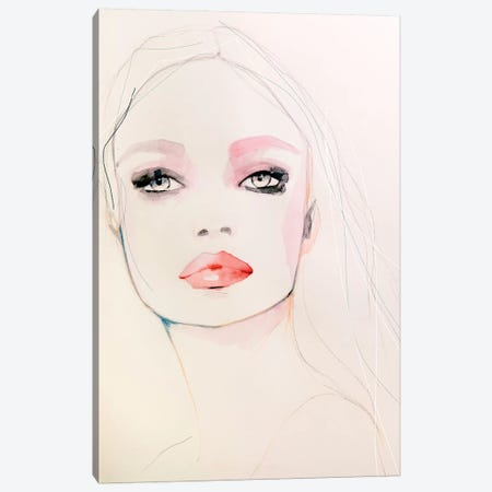 Pearl Canvas Print #LVI58} by Leigh Viner Canvas Art Print