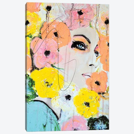 Collide Canvas Print #LVI7} by Leigh Viner Canvas Print