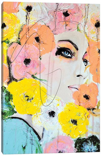 Collide Canvas Art Print