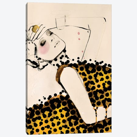 Current Canvas Print #LVI9} by Leigh Viner Canvas Artwork