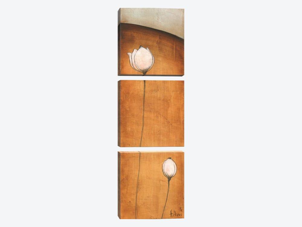 Standing Tall III by H. Alves 3-piece Canvas Art Print