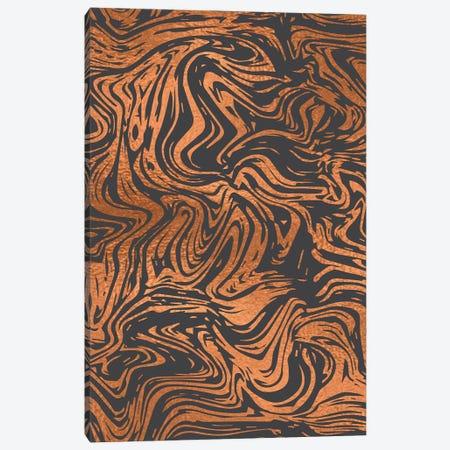 Tiger Stripes Canvas Print #LWB10} by Lisa Whitebutton Canvas Art Print