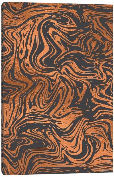 Tiger Stripes Canvas Art Print