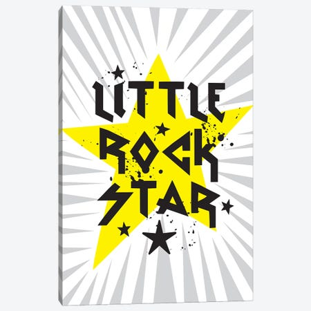 Little Rock I Canvas Print #LWB15} by Lisa Whitebutton Canvas Artwork