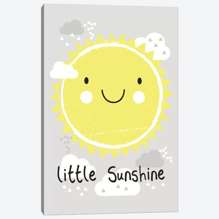 Baby Sunshine I Canvas Print #LWB2} by Lisa Whitebutton Canvas Artwork