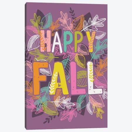 Thanksgiving Fall Harvest Bright Canvas Print #LWB30} by Lisa Whitebutton Canvas Print