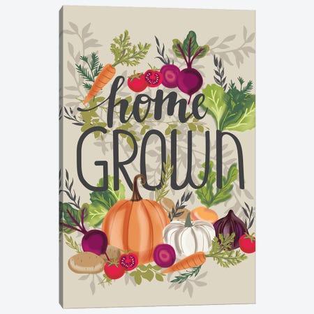 Kitchen Home Grown I Canvas Print #LWB31} by Lisa Whitebutton Canvas Print