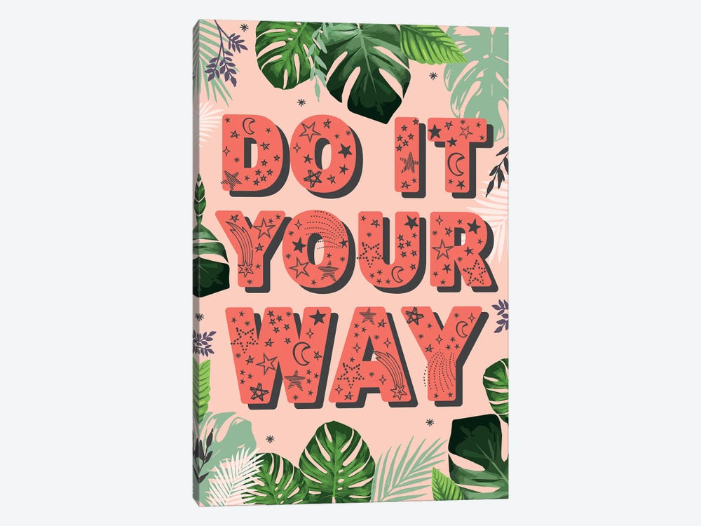 Tween Everyday Far And Away I by Lisa Whitebutton 1-piece Canvas Artwork