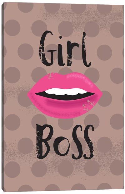 Everyday Girl Boss I Canvas Art Print