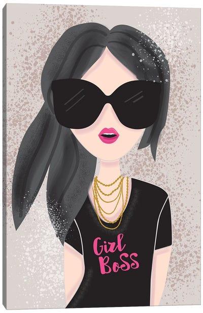 Everyday Girl Boss III Canvas Art Print