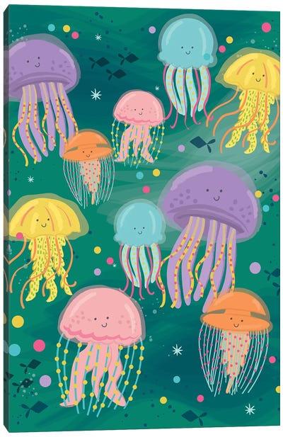 Coastal Nautical Under The Sea II Canvas Art Print