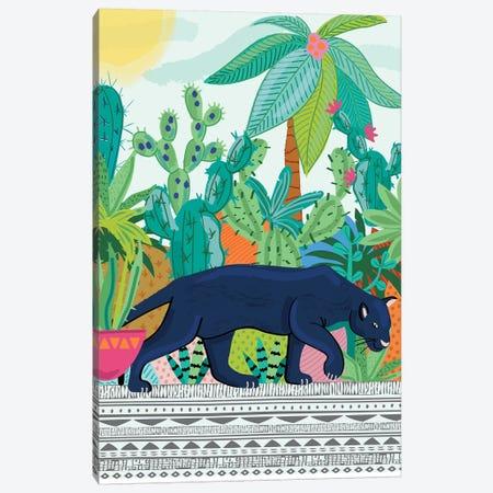 Everyday Walk On The Wild Side II Canvas Print #LWB57} by Lisa Whitebutton Canvas Wall Art
