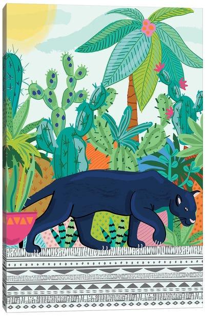 Everyday Walk On The Wild Side II Canvas Art Print