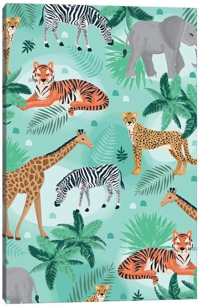 Everyday Jungle Savannah I Canvas Art Print