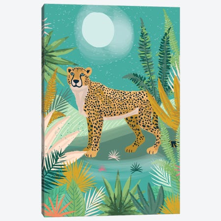 Everyday Jungle Savannah II Canvas Print #LWB61} by Lisa Whitebutton Canvas Art