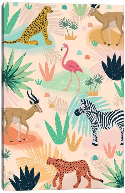 Everyday Jungle Savannah III Canvas Art Print