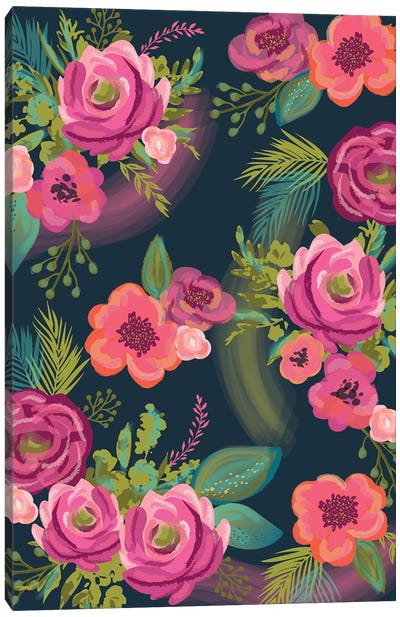 Everyday Floral Promise I Canvas Art Print