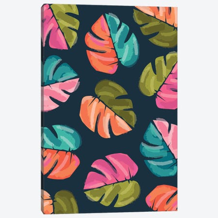 Everyday Floral Promise IV Canvas Print #LWB66} by Lisa Whitebutton Art Print