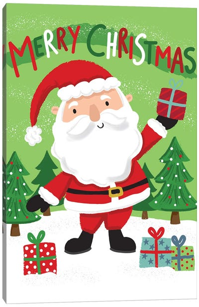 Christmas Christmas Caper Canvas Art Print