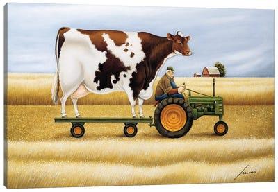 Ride To The Fair Canvas Art Print