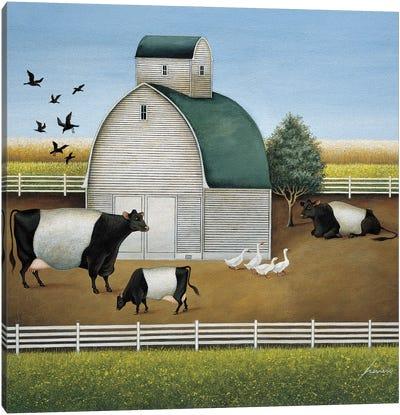 Beltie's Dairy Canvas Art Print