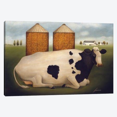 Sadie Canvas Print #LWE110} by Lowell Herrero Canvas Art