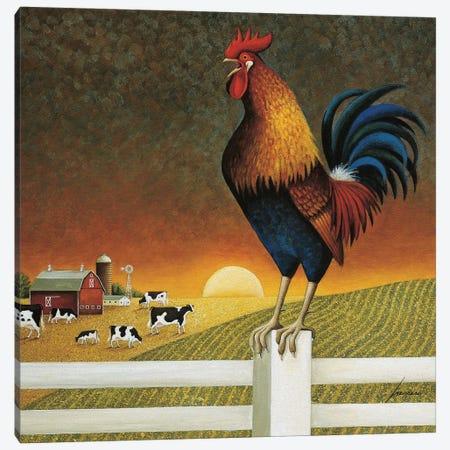 Sunrise Canvas Print #LWE126} by Lowell Herrero Canvas Artwork