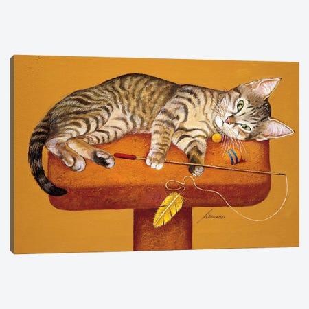 Tigger Price Canvas Print #LWE135} by Lowell Herrero Art Print