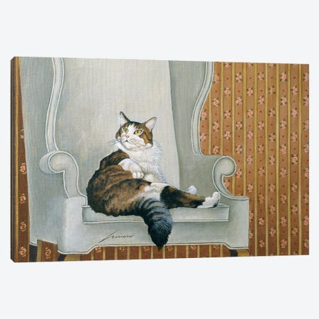 Toes Gentile Canvas Print #LWE136} by Lowell Herrero Canvas Art Print