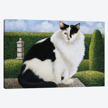 Troubles Canvas Print #LWE138} by Lowell Herrero Canvas Wall Art