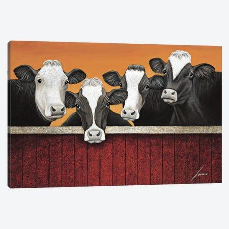 Waiting For Company Canvas Print #LWE143} by Lowell Herrero Art Print