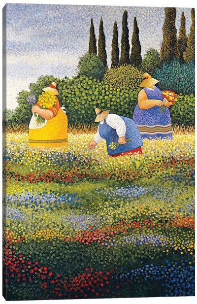 Wildflowers Canvas Art Print