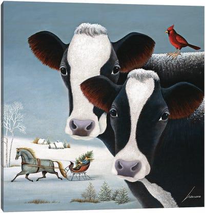 Winter Watch Canvas Art Print