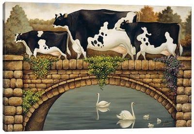 Calistoga Bridge Canvas Art Print