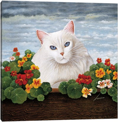 Chooey Barnes Wash Canvas Art Print
