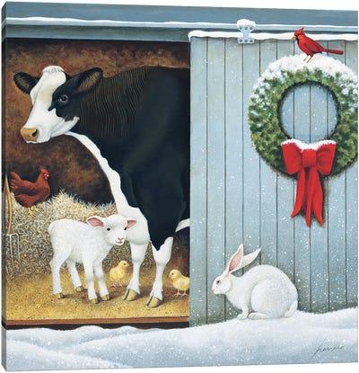 Christmas Morning Canvas Art Print