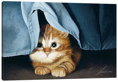 Clara Canvas Art Print