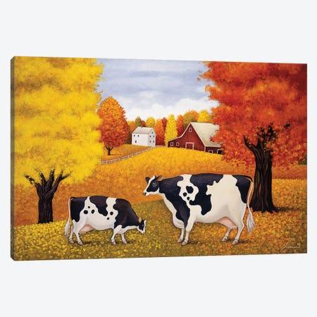 Fall In Peacham Canvas Print #LWE40} by Lowell Herrero Canvas Print