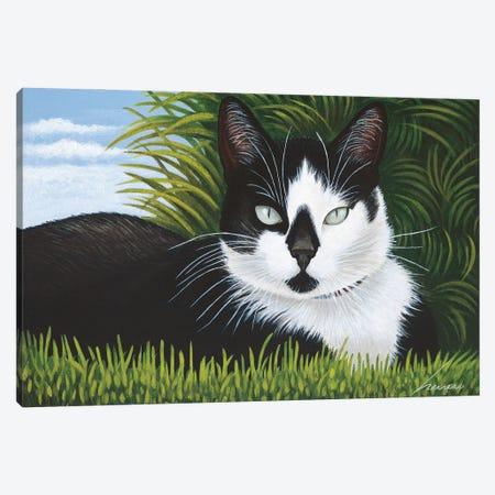 Freddy Martin Canvas Print #LWE49} by Lowell Herrero Art Print