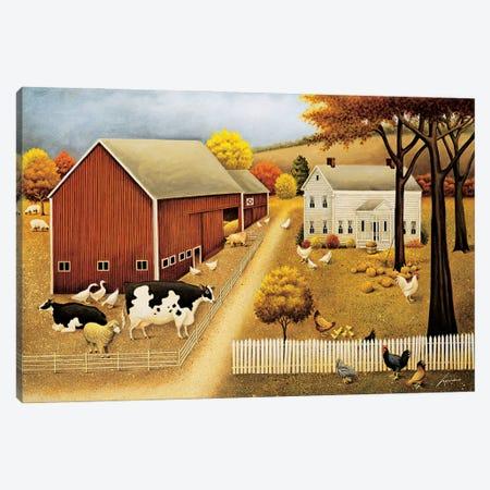 Grandma's House Canvas Print #LWE56} by Lowell Herrero Art Print