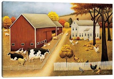 Grandma's House Canvas Art Print